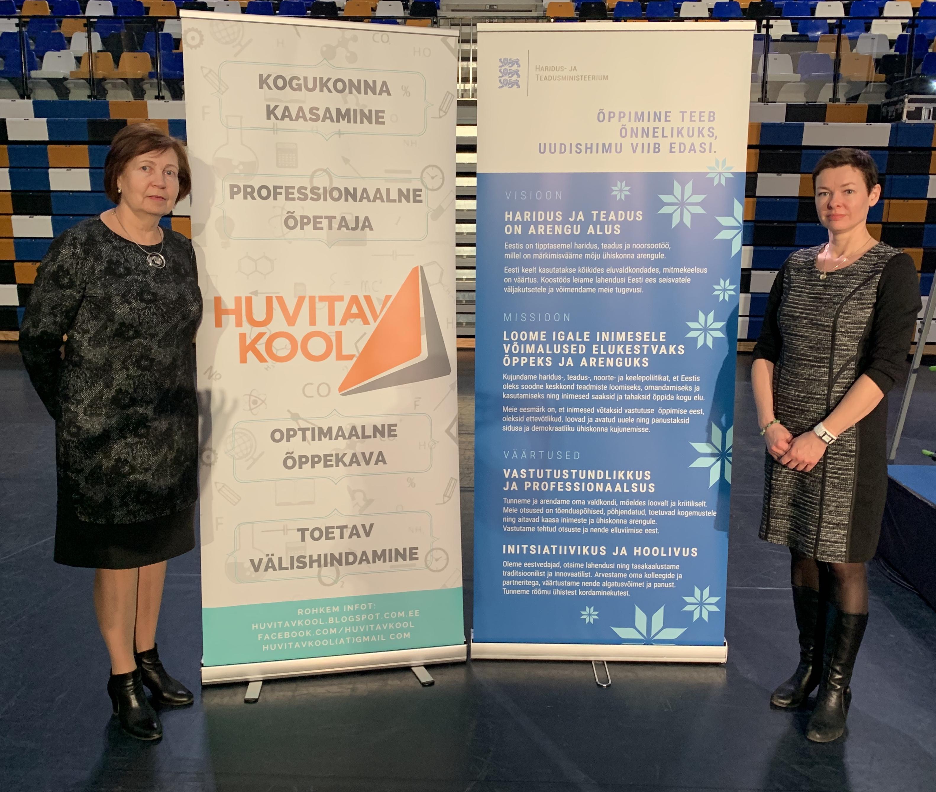 Noarootsi Kooli direktor ja tegevus-ja arendusjuht Tartu konverentsil